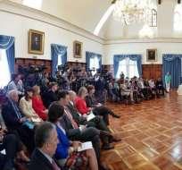 Representante de ONU en Ecuador dijo que organismo está dispuesto a colaborar. Foto: Twitter Cancillería