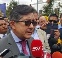 """Montúfar denuncia """"pagos ilegales"""" de Odebrecht en Metro de Quito. Foto: API"""