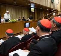 La guía concreta que propone el papa contra la pederastia. Foto: AFP