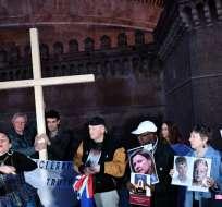 Víctimas de pederastia describen el horror padecido en cumbre del Vaticano. Foto: AFP