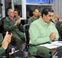 Maduro anuncia cierre total de frontera terrestre con Brasil. Foto: AFP