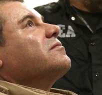 Joaquín Guzmán y Ovidio Guzmán fueron acusados de conspiración para traficar cocaína. Foto: AP