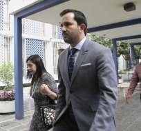 Secretario Anticorrupción indicó que fiscal general sí viajará dentro de la delegación. Foto: Archivo API