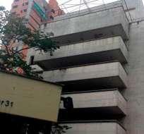 Los 8 pisos del búnker que protegió al jefe del cártel de Medellín caerán el viernes. Foto: noticias.caracoltv.com