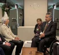 El acuerdo a nivel técnico con el FMI se alcanzó en el marco del Servicio Ampliado (SAF). Foto: FMI