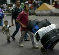 En promedio en el año 2018, unas 5.000 personas han dejado Venezuela cada día. Foto: AP