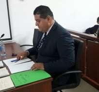 La defensa de Jorge Glas, Harrison Salcedo. Foto: API