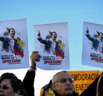 Guaidó, EEUU y aliados definen acciones contra Maduro en cita de Grupo de Lima. Foto: AFP