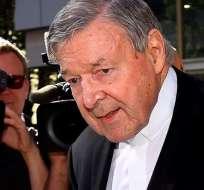 Es el más alto responsable de la Iglesia católica condenado en un caso de este tipo. Foto: Archivo AFP