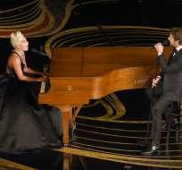 "Shallow"", de la película ""A Star Is Born"", ganó dos Grammy este mes. Foto: AP"