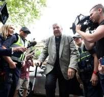 El ex número tres del Vaticano es considerado culpable de pederastia. Foto: AFP