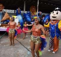 Desfiles y conciertos por carnaval en Guayaquil. Foto: Twitter
