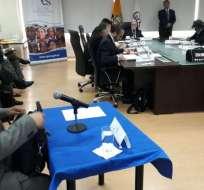 QUITO, Ecuador.- El titular del organismo pidió a Judicatura y Fiscalía no designar autoridades. Foto: API