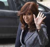 Está acusada de lavado de dinero a través del alquiler de hoteles de la familia. Foto: Archivo AFP