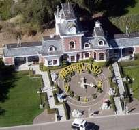 Neverland consta de una casa de seis habitaciones y tres casas de huéspedes. Foto: AFP