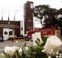 El atentado contra una escuela de cadetes ocurrido el pasado 17 de enero en la capital. Foto: AFP