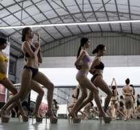 Ganar un título de Miss puede abrir las puertas del cine o la moda a las jóvenes filipinas. Foto: AFP