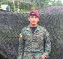 El joven militar era oriundo de Valencia, provincia de Los Ríos, tenía 29 años y era padre de dos niños.