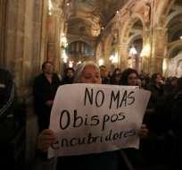La Fiscalía chilena investiga 148 casos de abusos sexuales cometidos por miembros de la Iglesia. Foto: AFP