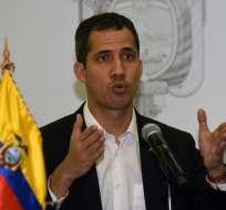ECUADOR.- El presidente interino de Venezuela dialogó con Ecuavisa sobre la situación en su país. Foto: AFP