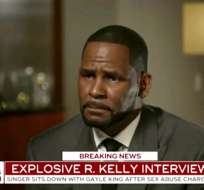 "CHICAGO, EE.UU.- R. Kelly es entrevistado por Gayle King en el programa ""CBS This Morning"". Foto: AP."