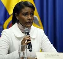 QUITO, Ecuador.- La actual directora de la UAFE alcanzó 88.17/100 puntos. Resultados pueden ser impugnados. Foto: API