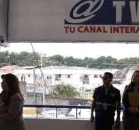 ECUADOR.- La Fiscalía también formulará cargos contra Televisión Satelital y exfuncionario de Secom. Foto: Archivo