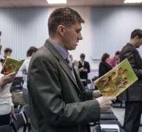 Los Testigos de Jehová están prohibidos en Rusia.