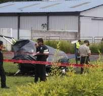 Examen especial se da después de accidente de helicóptero en Parque Bicentenario. Foto: Archivo API