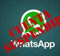 INTERNACIONAL.- La aplicación de mensajería envió un mensaje de alerta a los usuarios. Foto: Internet