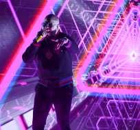 El popular intérprete de reggaetón y trap  será sentenciado en junio. Foto: AP.