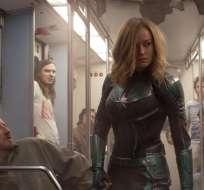 Capitana Marvel se posiciona en lo más alto de la taquilla norteamericana.