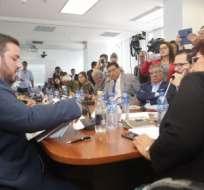 Titular de la cartera de Trabajo compareció ante Comisión de Asamblea Nacional. Foto: Asamblea