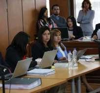 QUITO, Ecuador.- Juez nacional dictó medidas alternativas para otros ocho procesados.