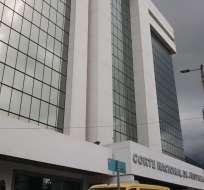 Los jueces se oponen a que se verifique legitimidad de nombramientos y patrimonios. Foto: Ecuavisa