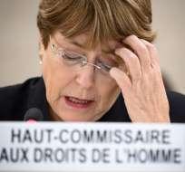 Una misión técnica de la ONU realiza en ese país una visita de dos semanas. Foto: AFP