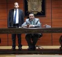 QUITO, Ecuador.- Fiscalía levantó cargos por delito de fraude procesal y ratificó las medidas cautelares. Foto: Fiscalía.