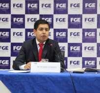 ECUADOR.- Fiscal Richard Alvarado aclara que normativa no contempla la consignación de valores. Foto: Fiscalía