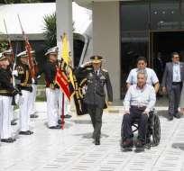 Mandatario anunció días atrás que Ecuador tramita su retiro de Unasur. Foto: Secom