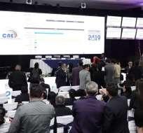 QUITO, Ecuador.- Guayaquil, Quito, Cuenca y Ambato tienen sus virtuales ganadores, según datos preliminares del CNE.