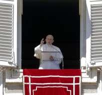 Francisco también abordó la crisis en dos países de África. Foto: AP
