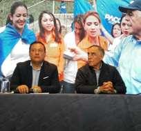Candidato a Alcaldía de Quito se pronunció tras culminación de jornada de votación. Foto: API