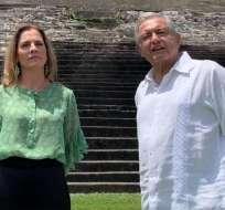El presidente mexicano, Andrés López Obrador, envió una carta al al rey de España y otra al papa Francisco.