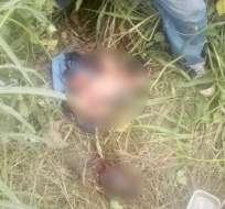 GUAYAQUIL, Ecuador.- El menor fue encontrado en un terreno baldío. Foto: ECU-911
