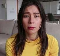 """La """"youtuber"""" Rawvana tuvo que dar explicaciones después de que se hiciera viral su imagen frente a un plato de pescado"""
