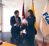 Correa creó un instituto al final de su gobierno, el cual recibió USD 281.000 en 2018. Foto: @IvanGrandaM