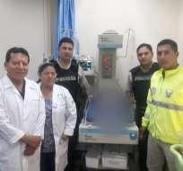 GUAYAQUIL, Ecuador.- Bebé podría recibir el alta después de una semana. Foto: Cortesía.
