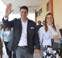 Palacios no tendrá mayoría.en el Consejo Municipal de Cuenca. Foto: API
