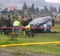 QUITO, Ecuador.- El accidente ocurrió en el parque Bicentenario de Quito. Foto: API/Archivo.