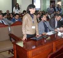 El organismo recibió a 38 accionantes quienes mostraron su postura sobre el tema. Foto: Corte Constitucional